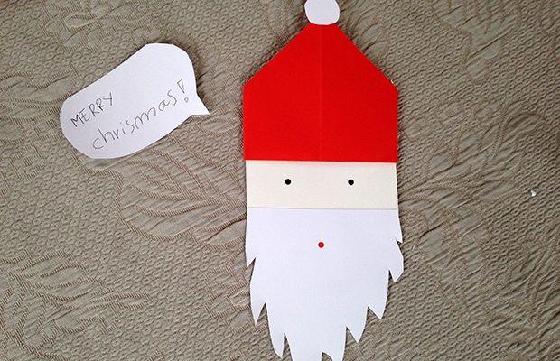 Un Babbo Natale di carta