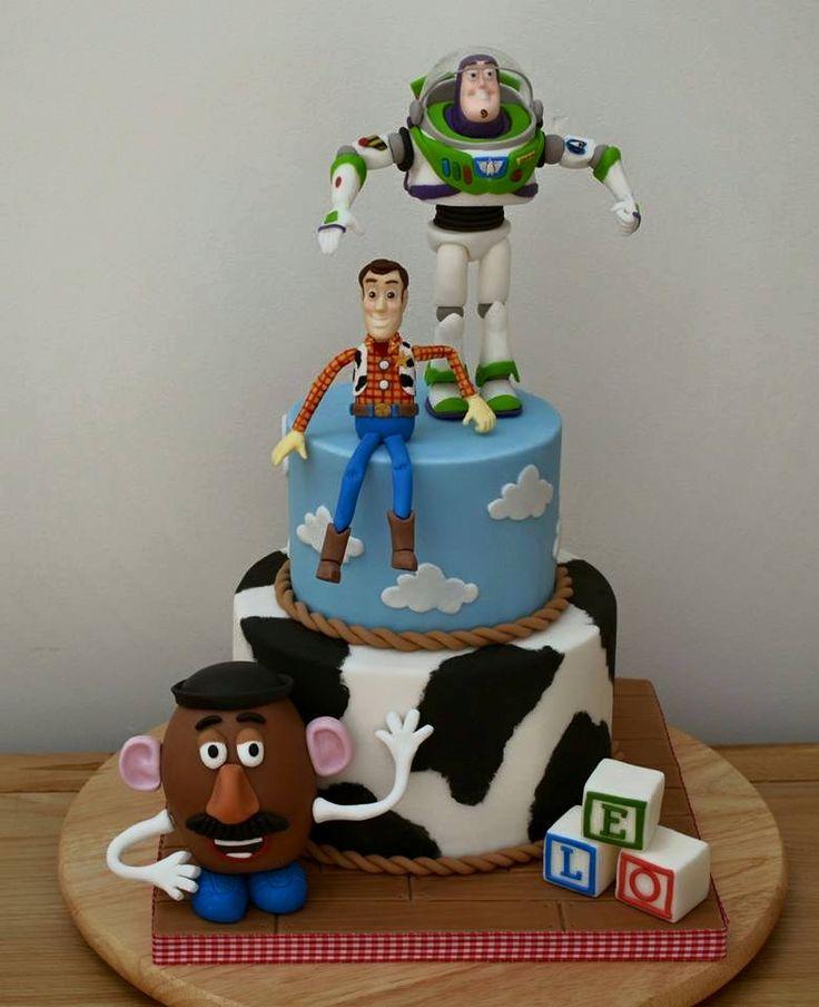 Toy Story Cake - Create A Cake - BabyCentre