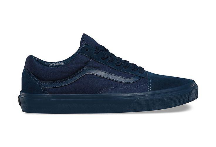 Paire de chaussures VANS OLD SKOOL Mono Bleu | Alltricks.fr