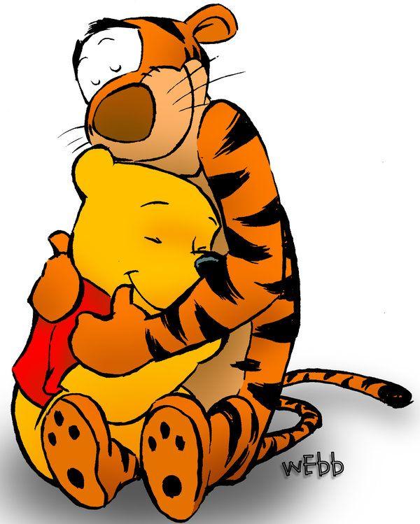 Tigger and Pooh by johnnywebb on deviantART