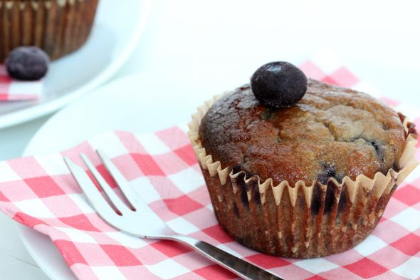 gezonde blueberry muffins recept (als tussendoortje)