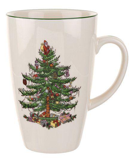 Spode Christmas Tree Latte Mug zulily Christmas Pinterest