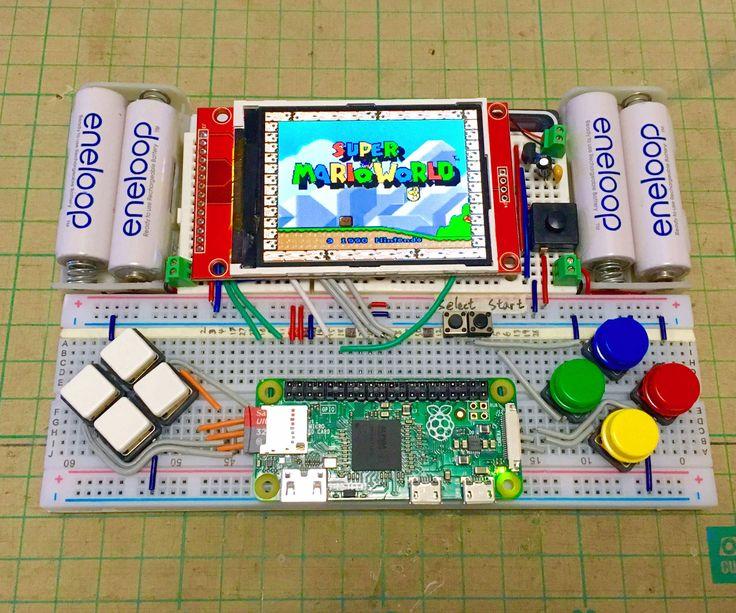 Breadboard RetroPie Arduino projects, 3d printed metal