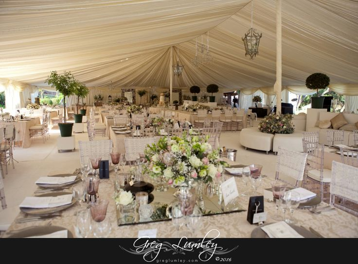 White wedding Table Decor.