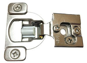 "Cabinet Door World - Soft Close Hinge - 1/2"" Overlay, $10.26 (https://www.cabinetdoorworld.com/soft-close-hinge-1-2-overlay/)"