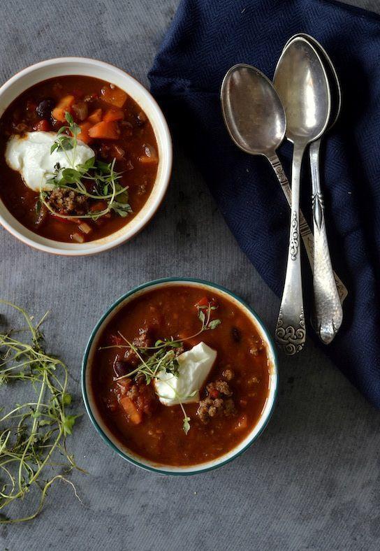 Suppe Søndag: Mexicansk suppe med oksekød & kidney bønner (via Bloglovin.com )