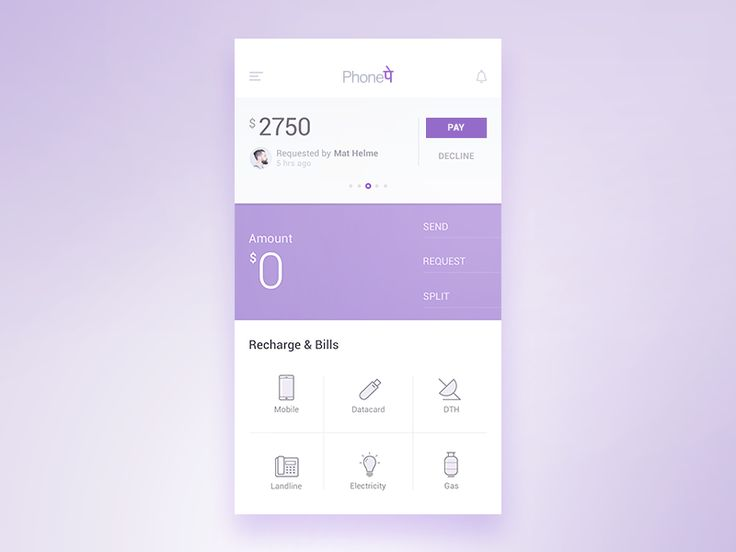 A rejected version for PhonePe application done nearly 6 months back.