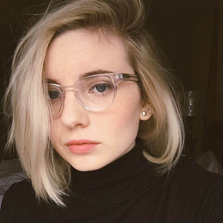 Image Result For Blonde Bob Glasses Cute Hairstyles For