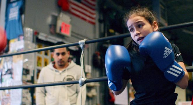 """""""I never, ever, ever, ever, ever, maybe like 100 evers, think anything's too difficult for me,"""" says Jesselyn Silva, who dreams of boxing in the 2024 Olympics. What's your excuse for not going to the gym?"""