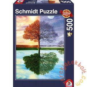 Schmidt 500 db-os puzzle - Jahreszeiten-Baum (58223)