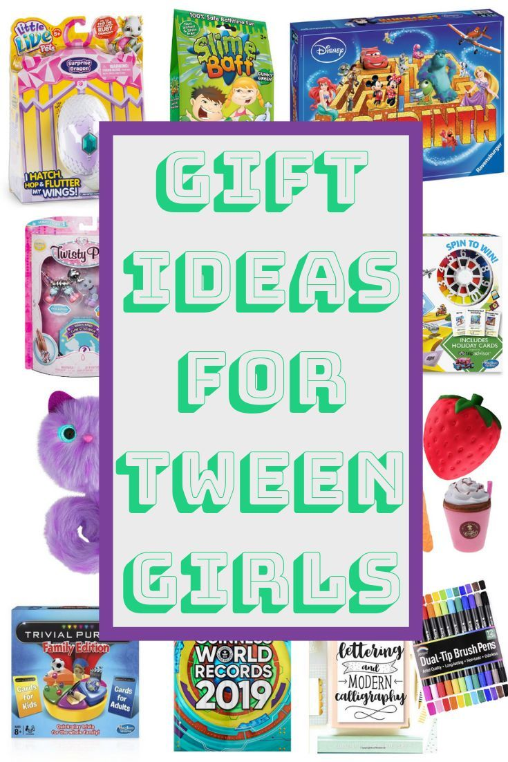 Gift Ideas for Tween Girls - The Reading Residence Presents and inspiration  for gift buying for young girls, aged 8-12 years old.