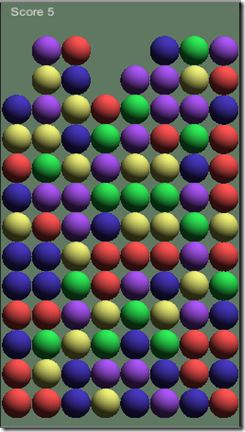 making bubble breaker game unity3d