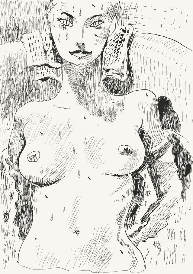 Isabelle Cahn, conservatrice du musée d'Orsay, et le dessinateur Joann Sfar / France Inter