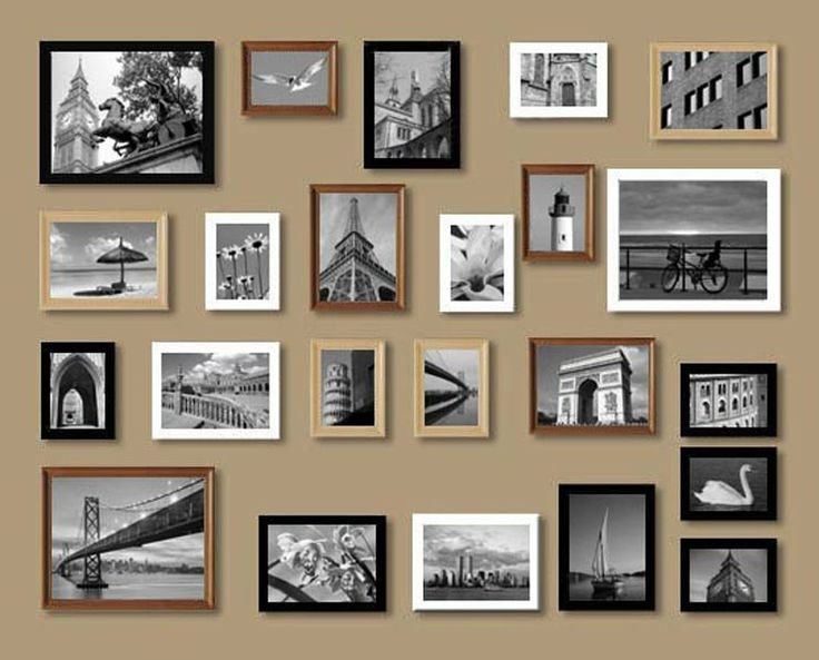 7 best images about wall collages on pinterest diy wall. Black Bedroom Furniture Sets. Home Design Ideas
