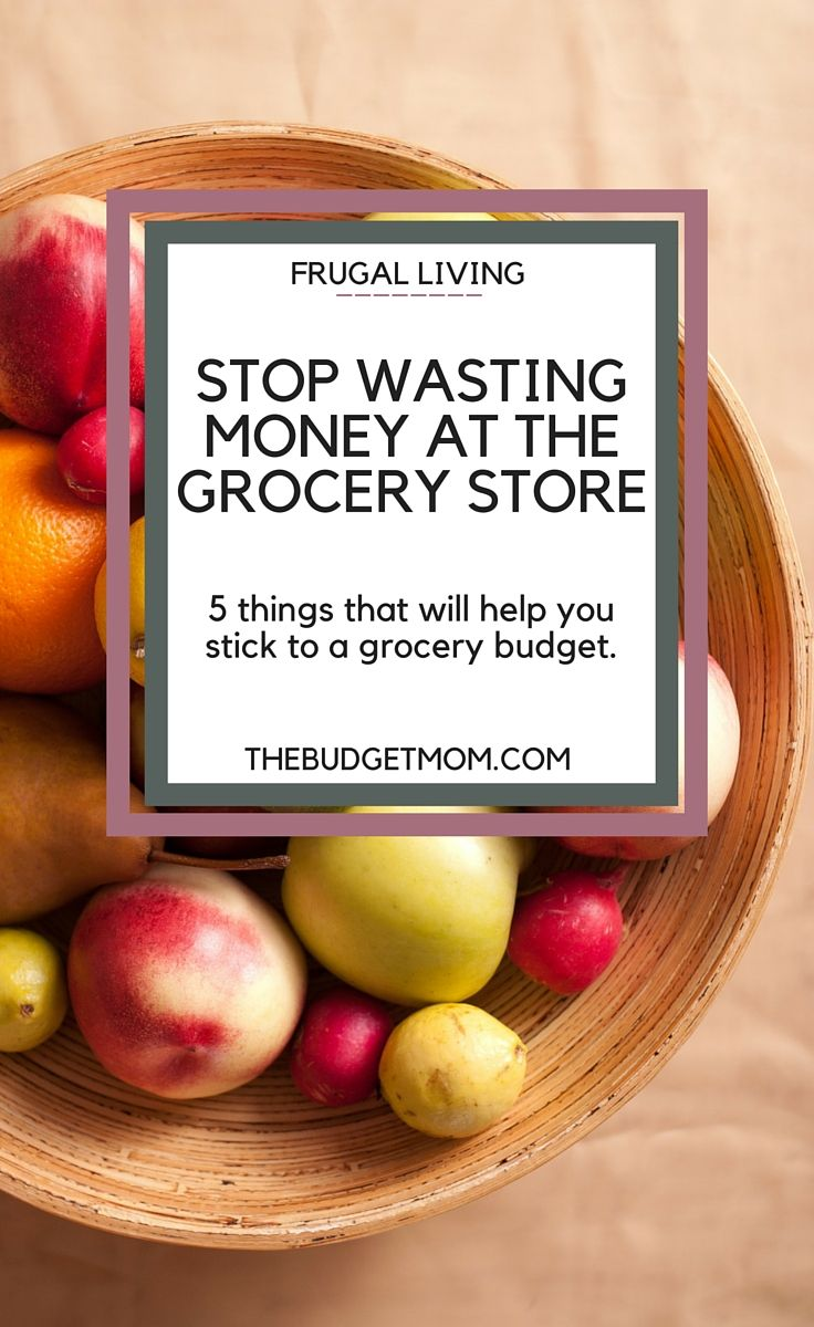 Have you ever walked into a grocery store, shopping list in hand, and come out with 50 things that weren't on your list? From planned advertisements, strategically placed products, and sale signs that are meant to get you to open your wallet, it's so hard to resist the temptation sometimes. Click to read about 5 things you can do to help you stick to a grocery budget.