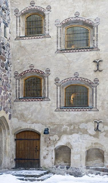 Turku Castle, Finland was started ca 1280 by Swediah conquerors.