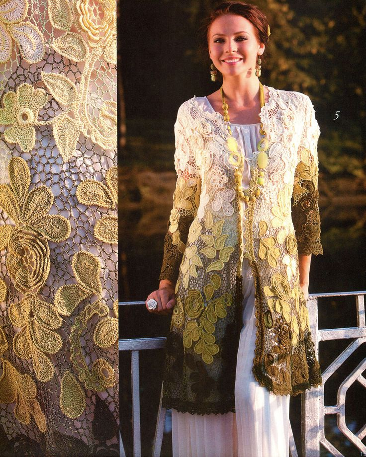 Fabulous irish crochet dress