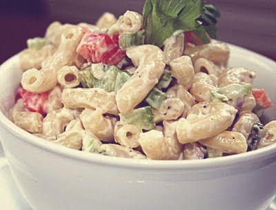Recette de salade de macaroni toute simple et rapide à faire