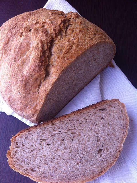 Las recetas de la familia Tartufo: Hogaza de pan tradicional con Masa Madre