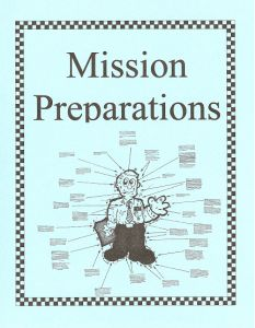 Missionary Preparations Binder