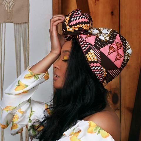 Sweetie Headwrap – Head Wraps   – Headwrap Hairstyles + Tutorials