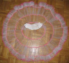 Eigenlich ist so ein Petticoat nichts anderes als ein Stufenrock, wo die Rockbahnen mehr oder weniger  gekräuselt sind.  Ihr könnt eine ...