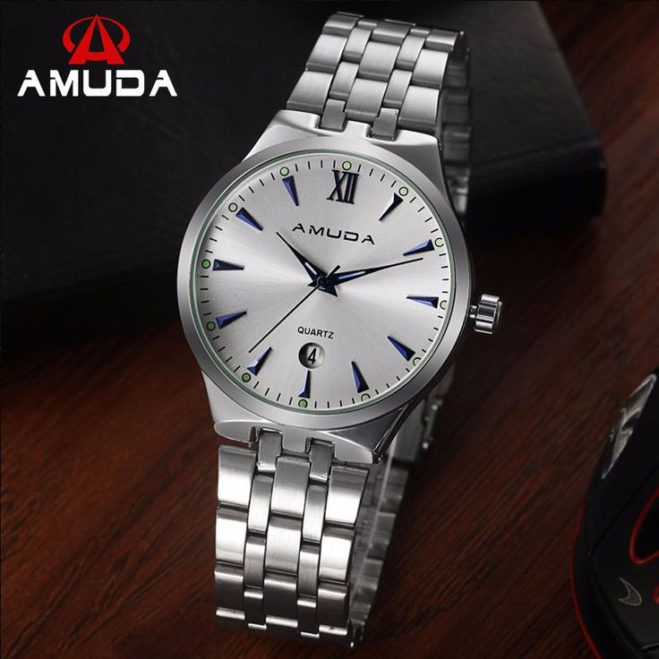Looking for well designed and neat style crafted #Watch? We have what you want!   #AMUDA Men's Quartz Analog Full Steel #Wristwatch designeed special by Men for Men.    Define right pitch for your wrist by choosing a watch that fits you!  Shop #AMUDA Now