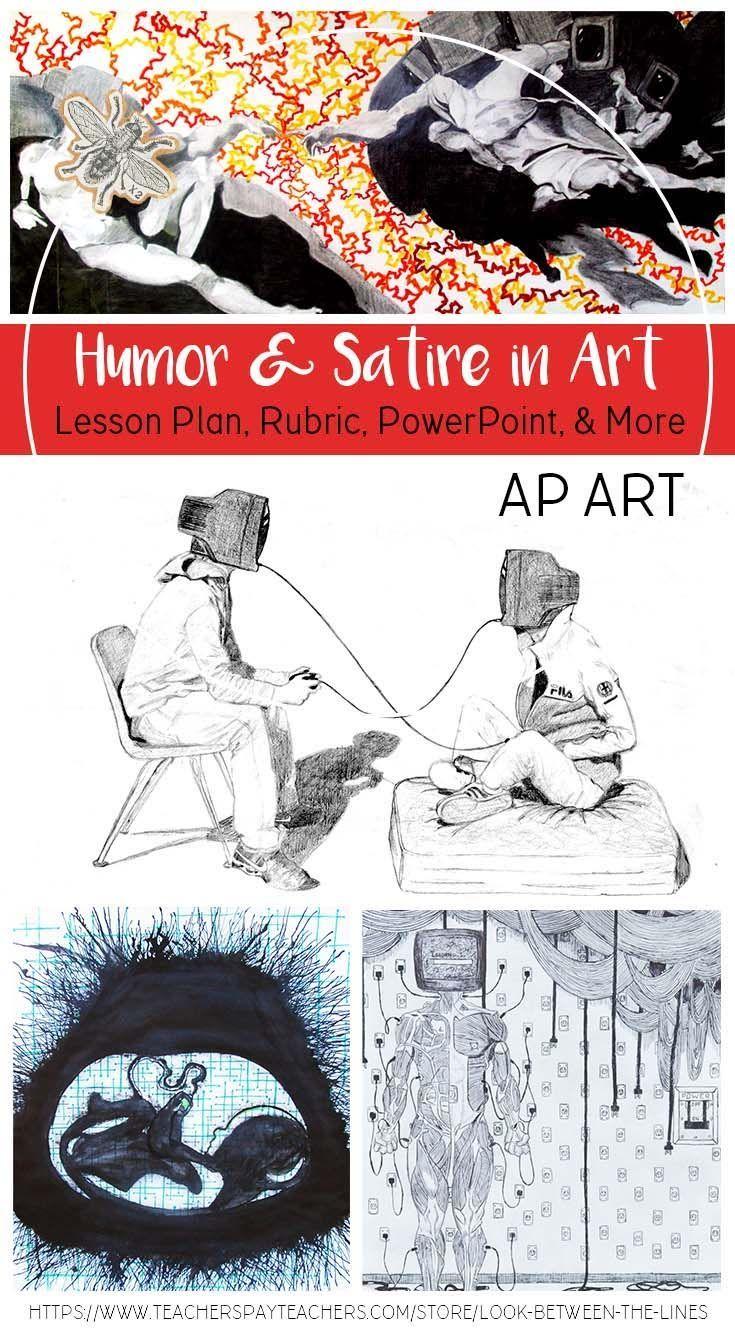 Ap Studio Art Or Advanced Visual Art Humor And Satire In Art