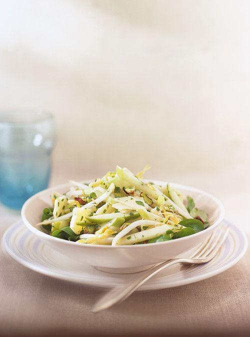 Salade de pommes vertes et de cheddar Recettes | Ricardo
