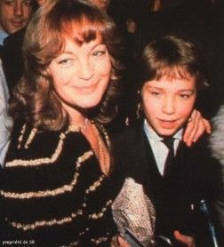 romy schneider with her son David. David, her son, died at the age of 14 after attempting to climb the spiked fence at his stepfather's parents' home, but punctured his femoral artery in the process.