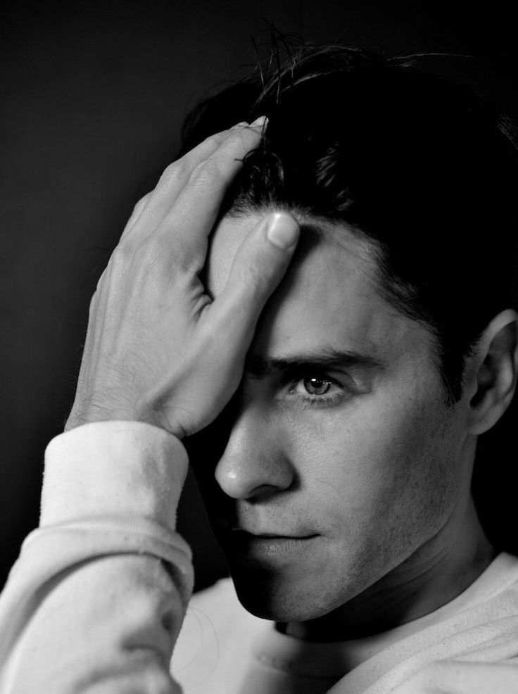 Jared Leto - 3-2015- Cut his Hair for new Joker role. Looks very handsome!