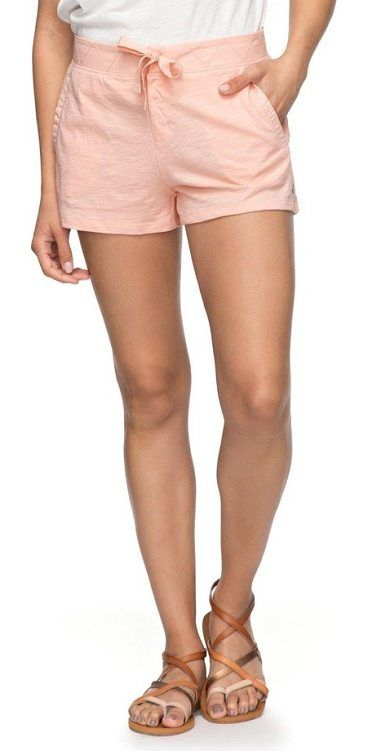 sunset pie cotton shorts by Roxy. A chevron-stitched waistband tops these knit cotton shorts that are cozy and comfy and perfect for off-duty days in the sun. Style Name: Roxy Sunset Pie Cotton Shorts. Style Number: 5518134. Available in stores. #roxy #shorts