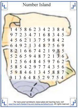 Math Worksheets Island - math worksheets on pinterest printable ...