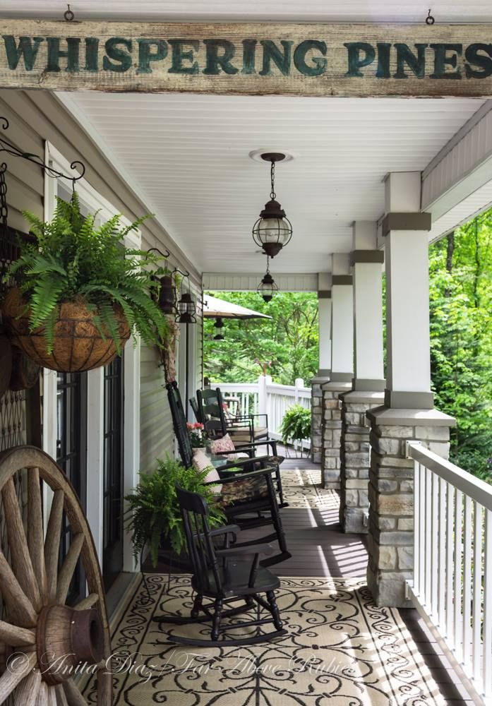 Pin by amanda harwood on porch potato love pinterest for Southern front porches