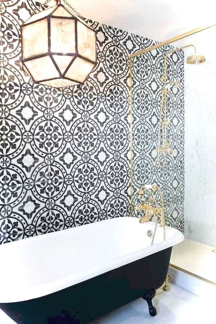 The 25+ Best Black And White Bathroom Ideas Ideas On Pinterest | Classic  Style White Bathrooms, Classic White Bathrooms And Classic Small Bathrooms