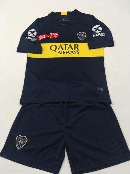 b045aaa1950 2018-19 Cheap Youth Kit Boca Juniors Home Replica Soccer Kids Suit [DFC19]