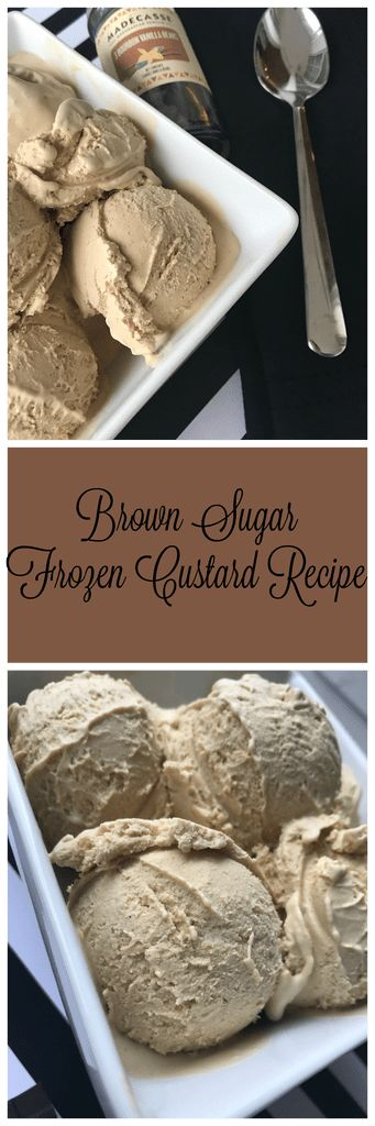 Brown Sugar Frozen Custard Recipe