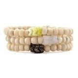 White Bone Set Bracelets  $80.00