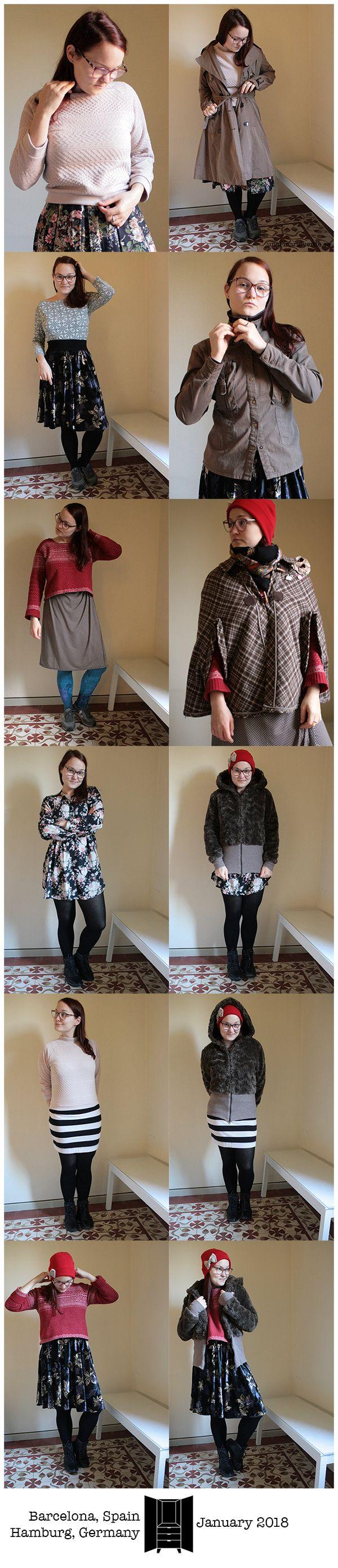 unarmarioverde.es - Winter 2018 capsule wardrobe outfits - January 2018 - Barcelona, Spain & Hamburg, Germany