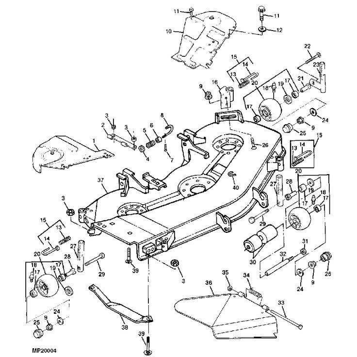 1000  Images About John Deere Replacement Mower Decks On Pinterest