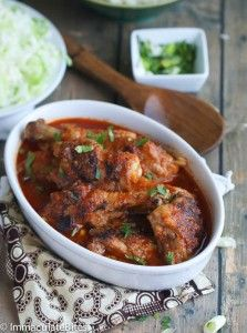 Chicken Stew (African Style) - Immaculate Bites