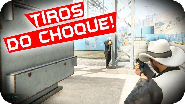 TIROS DO CHOQUE! - GTA 5 PC Online