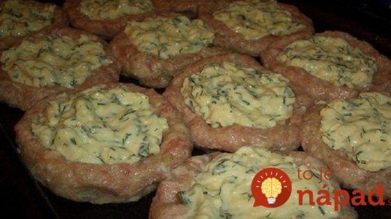 Zabudnite na vyprážané fašírky: Vyskúšajte pečené hniezda z mletého mäsa, plnené syrom a smotanou!
