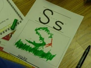 """""""Student made ABC chart very Reggio Emilia.""""  Create their own personal alphabet for their ABC word resource book for writing?"""