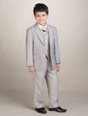 Boys beige suit - Joey