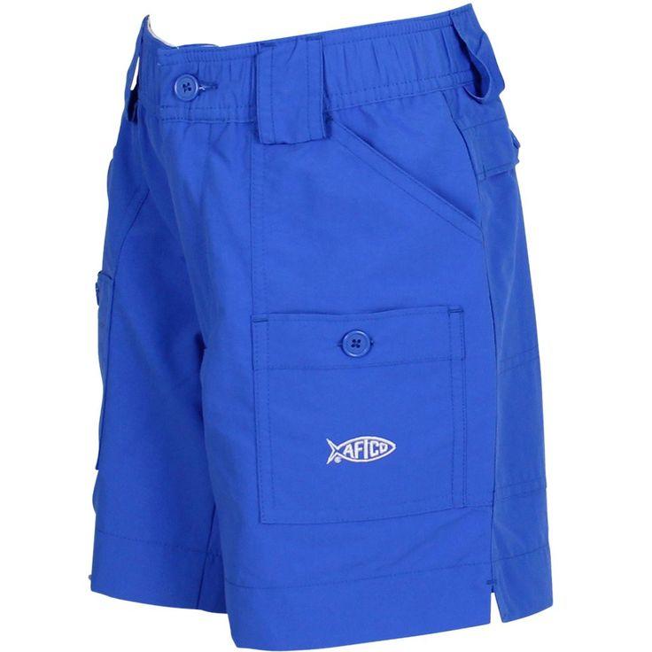 AFTCO - Youth Boys Fishing Shorts - Royal Blue
