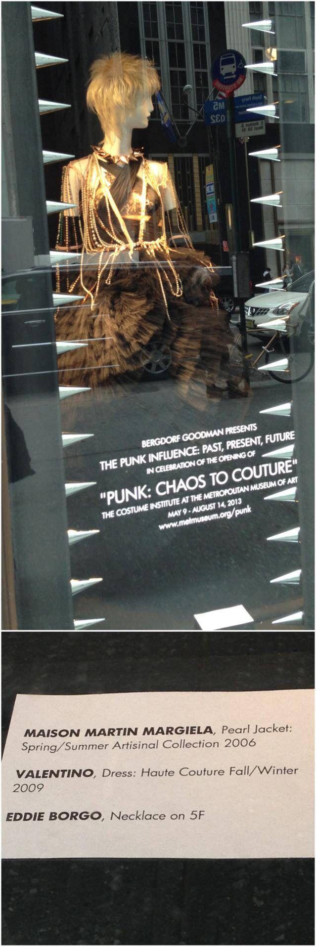 Shopwindow -> MMA New York - 'Punk-Chaos to Couture' (2013-05-14) - Fashion Exhibition