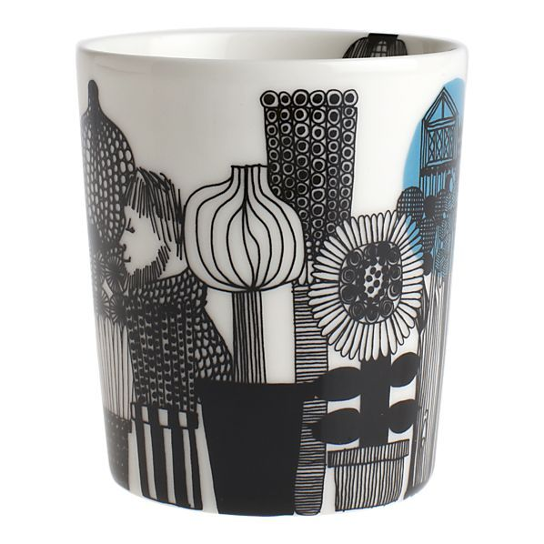 For the tea drinker // Marimekko Siirtolapuutarha Mug without Handle $19.00