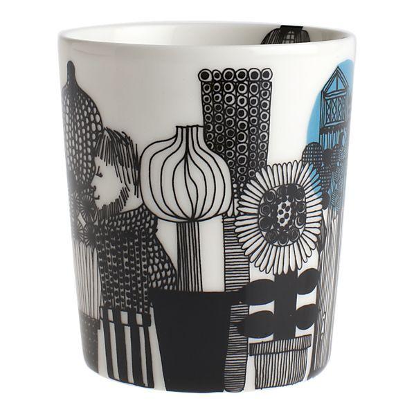 For the tea drinker // Marimekko Siirtolapuutarha Mug without Handle $19.00