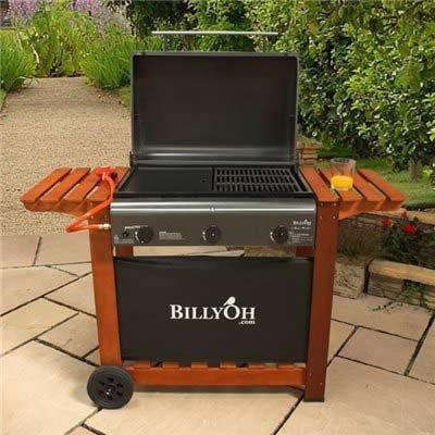 BillyOh Gas BBQ – Acorn Hooded 3 Burner Gas BBQ – Barbecue